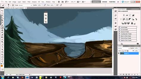 tutorial photoshop for beginner digital painting tutorial for beginner photoshop