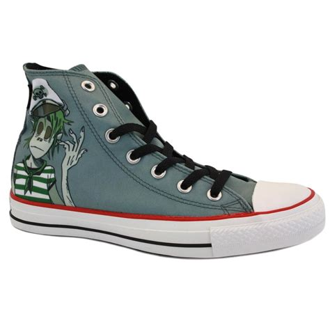 Converse Limited Edition Trainers For Product by Converse Chuck Gorillaz Hi 132177c Unisex Limited