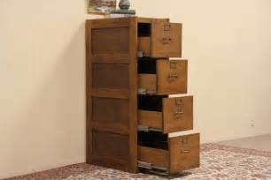 Oak Filing Cabinet 4 Drawer Oak 4 Drawer Antique 1925 File Cabinet