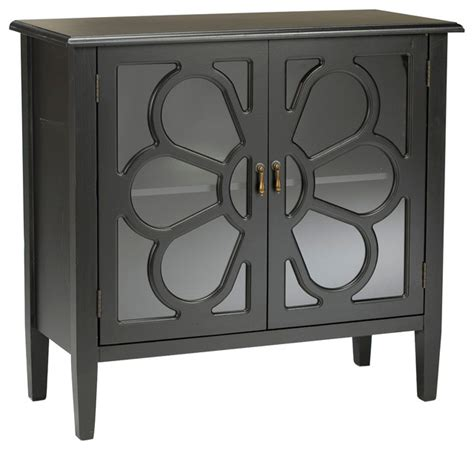 2 door accent cabinet black 2 door cabinet with glass doors transitional