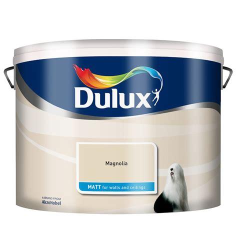 dulux matt emulsion magnolia 10l painting decorating