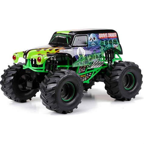 monster jam radio control trucks image gallery monster jam grave digger