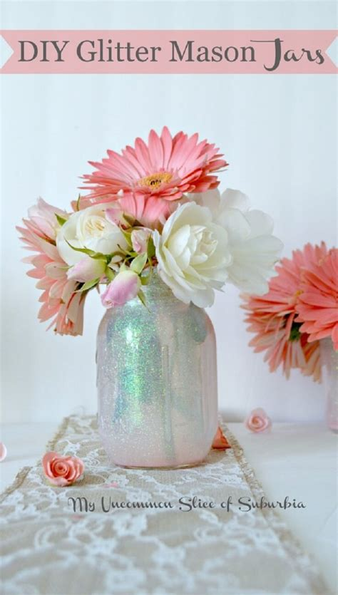 how to make simple diy flower arrangements glitter inc 29 best diy mason jar flower arrangements ideas and