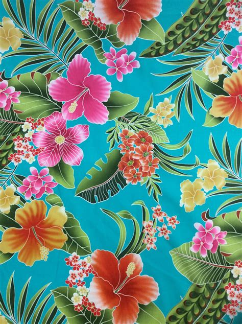 beautiful fabrics beautiful hawaiian print cotton fabric yardage available