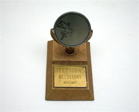 vintage desk accessory executive decision maker