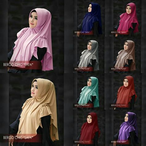 Jilbab Jersey Sedang model jilbab terbaru 2018 jilbab bergo chic safa bundaku net