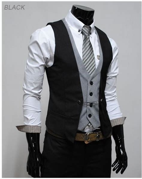 Mens Wedding Attire Vest Only by Groom Groomsmen Attire To Match Casual Bridesmaid
