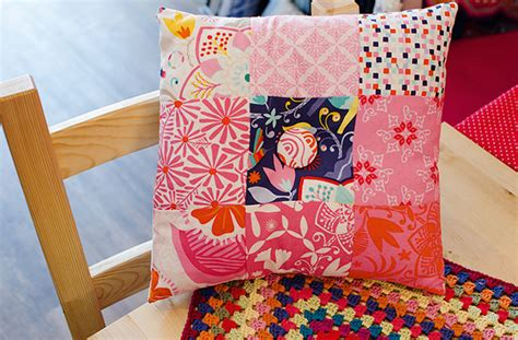 How To Make A Patchwork Cushion - how to make a patchwork cushion cover goodtoknow