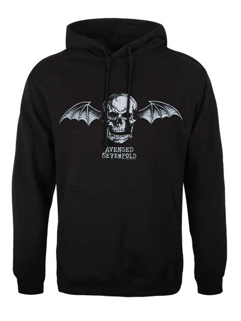 Pullover Hoodie Avenge Sevenfol Logo avenged sevenfold bat logo s black a7x hoodie ebay