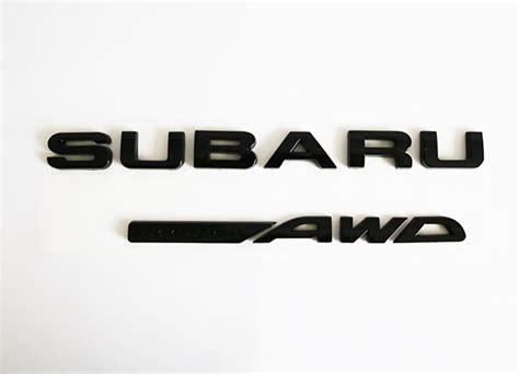 subaru emblem black auto city imports sport compact auto import