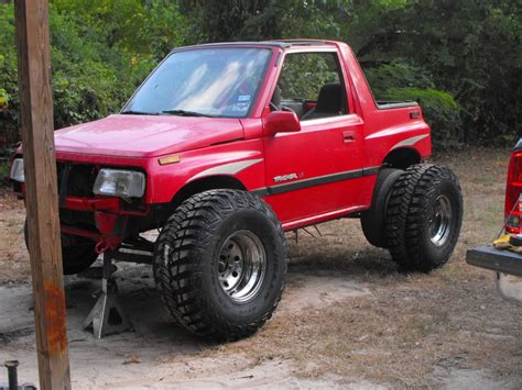 chevy tracker off road 96 geo tracker rock crawler pavement your