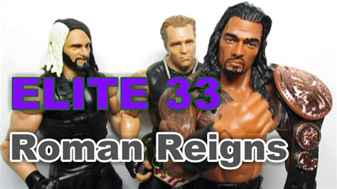 Reigns Elite 33 Fig Only figure elite 33 reigns review stopmotion animations matte collection