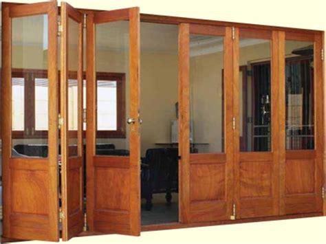 Wood Accordion Doors by Wood Accordion Doors Interior Accordian Windows Wood