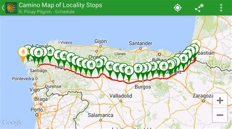 camino maps camino pilgrim app camino pilgrim app tutorial