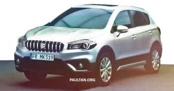 Suzuki Facelift Suzuki S Cross Facelift To Be Revealed In A Few Days