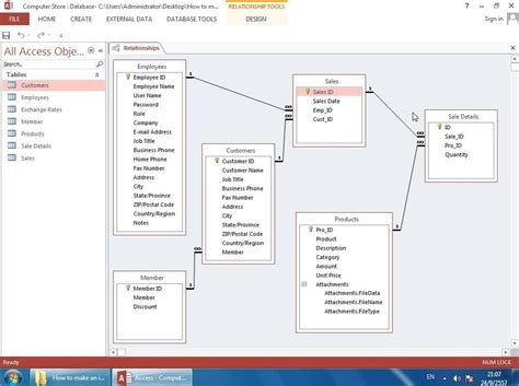create a new desktop database from the time card template how to create a stock management database in microsoft
