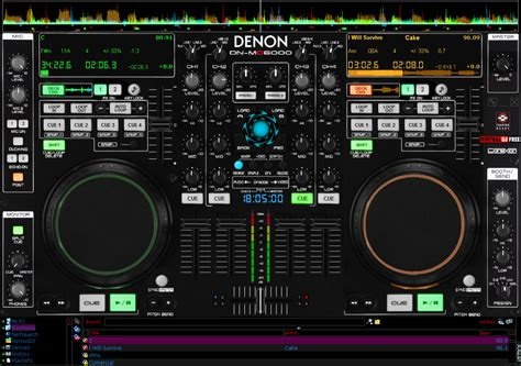 imagenes dj virtual gratis descargar gratis skin denon 6000 para virtual dj