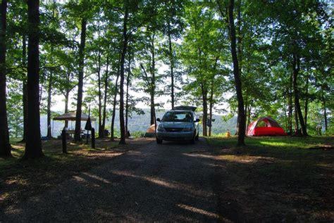 Table Rock Mo Red Bluff Campground Davisville Missouri Ozarks Walkabout