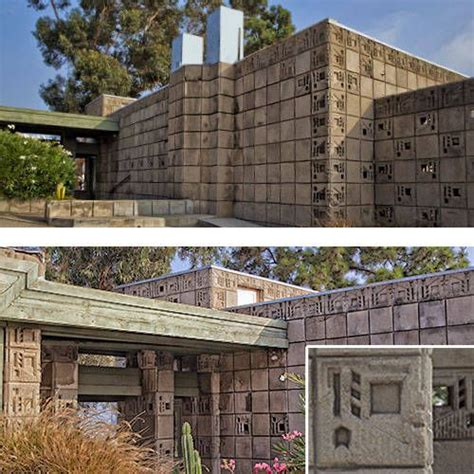 17 best images about 1924 freeman house by frank lloyd