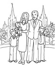 Christian Family Coloring Pages Sketch Page sketch template