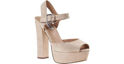 Athira Suede Platform Sandal steve madden jillyy platform sandal blush suede in pink lyst