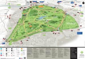richmond park walks map july to october 2014 living