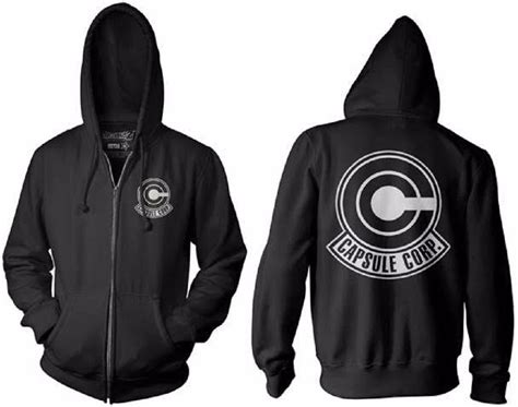 Hoodie Capsule Corp 1 Xxxv Cloth z capsule corp symbol licensed
