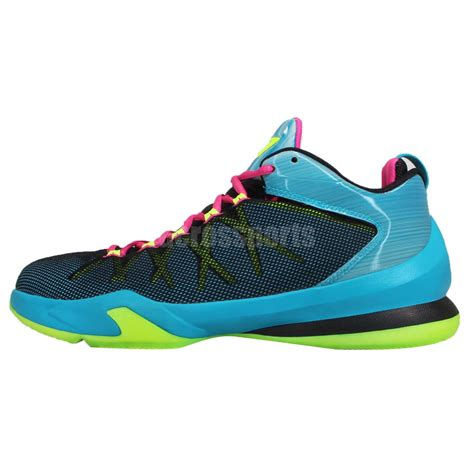 cp3 basketball shoes nike cp3 viii ae 8 chris paul blue pink mens