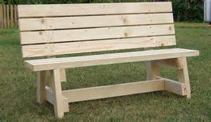 Free Wood Bench Seat Plans by Simple Garden Bench Seat Project Metric Version