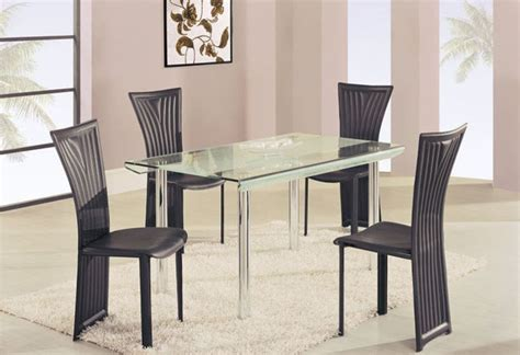 modern glass top dining table sets glass kitchen table sets rectangular roselawnlutheran
