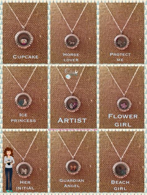 Origami Owl Ideas - origami owl locket ideas origami owl images