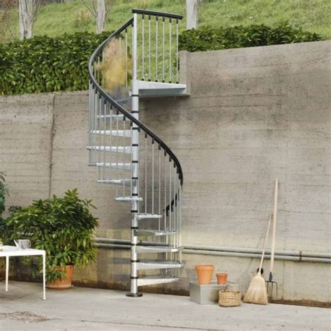 Outdoor Metal Stairs Metal Outdoor Spiral Staircase Exterior Stairs