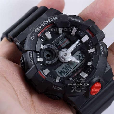 G Shock Ga 700 Hitam g shock ga 700 1a hitam merah on toko jam tangan