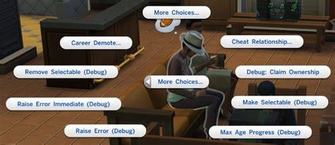 best free game mod center download mod the sims script mod enable advanced debug cheat
