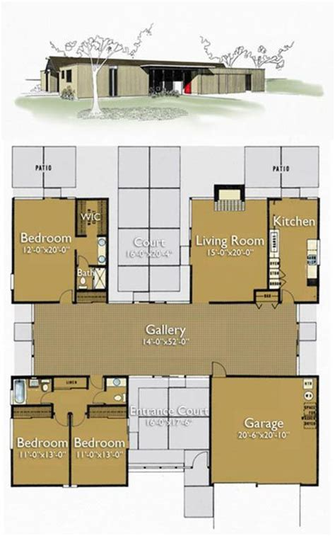 atrium ranch house plans atrium ranch house plans house plans