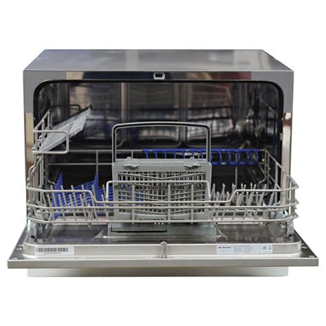 bench top dishwasher new domain 6 place benchtop countertop dishwasher white