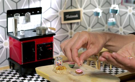 kitchen movies tiny kitchen videos cook up real food in doll sized