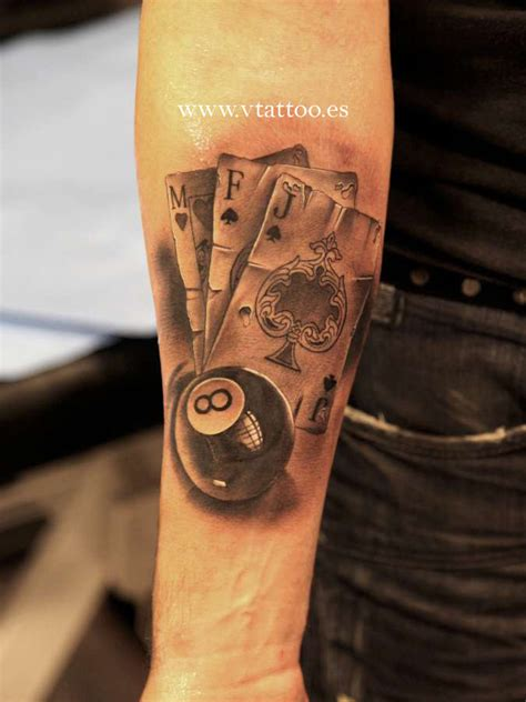 poker tattoo www vtattoo es miguel bohigues flickr