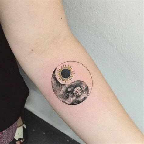 yin yang tattoos for couples 30 exles of amazing and meaningful moon tattoos