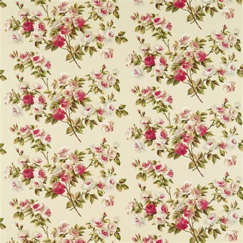 vintage pattern material eglantine fabric rose moss dvipeg204 sanderson