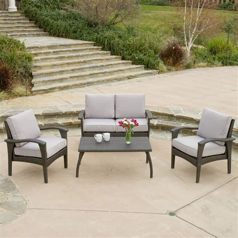Patio Sofa Sale Wayfair Patio Furniture Sale Save On Trendy Outdoor