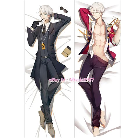 yuri on dakimakura victor nikiforov anime boy