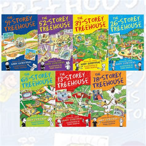 terry treetop and abigail collection books andy griffiths treehouse series 7 books collection ebay
