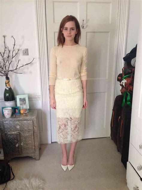 Emma Watson Oops And See Thru Collection