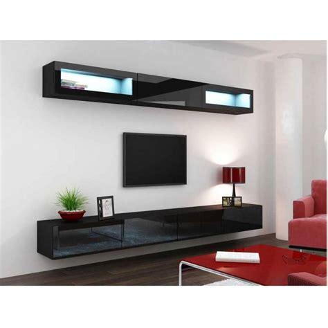 meuble TV VIGO TREND noir   séjour meuble tv