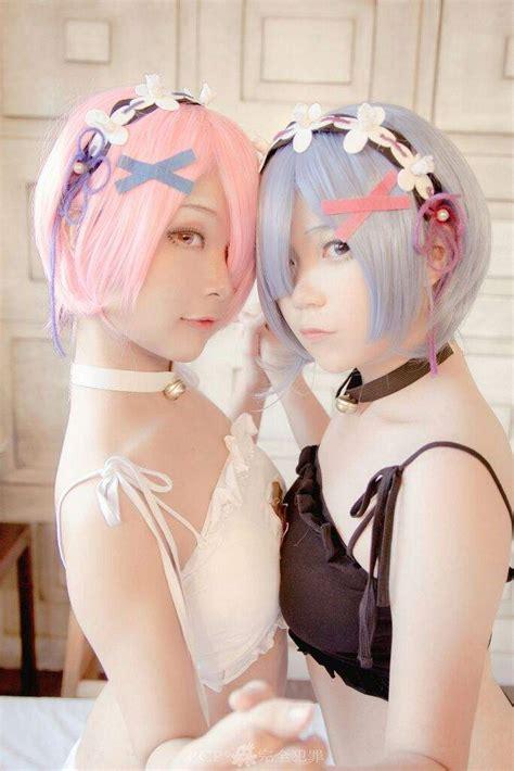 Pack De Cosplays De Ram Y Rem Anime Amino