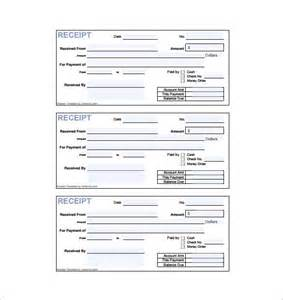 free invoice receipt template invoice receipt template 8 free sle exle format