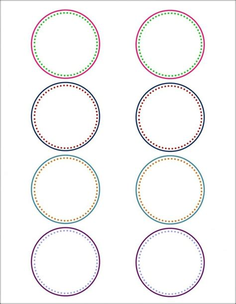 Microsoft Publisher Label Templates 167 Circle Labels Template Templates Resume Exles Rvarwq4ywx