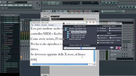tutorial fl studio ita fl studio tutorial setup asio4all v2 ita hd youtube
