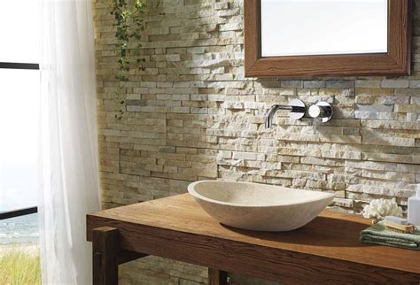natural stone bathroom leda natural stone bathroom vessel sink in beige